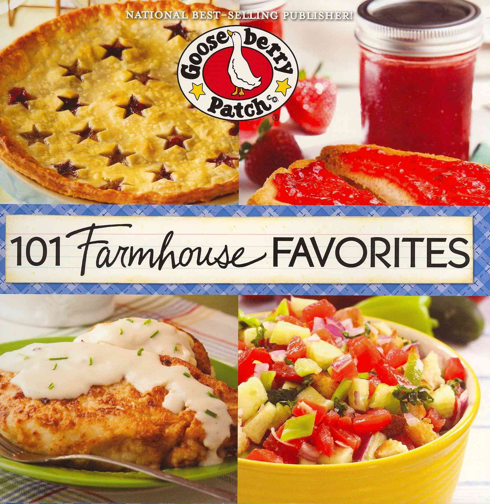 101 Farmhouse Favorites By Gooseberry Patch (COR)